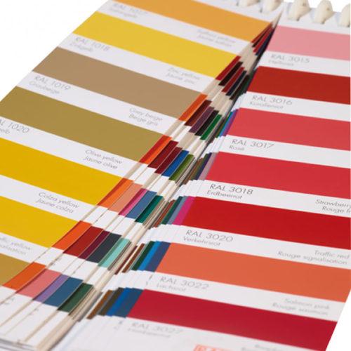 2 Lâminas por página - Com 213 cores e informações.
