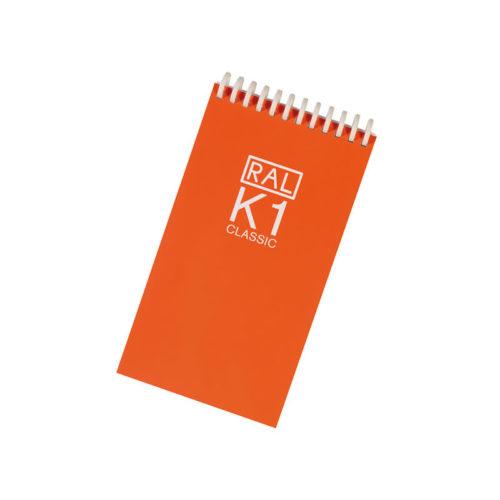 Paleta de cores RAL K1