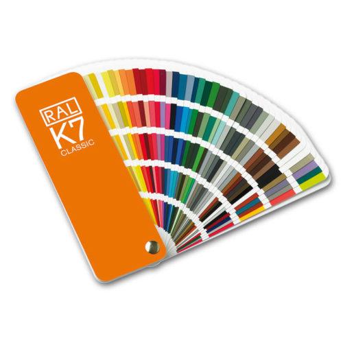 Paleta de cores RAL K7