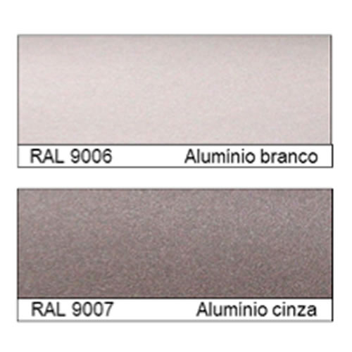RAL CLASSIC – RAL 9006 e RAL 9007