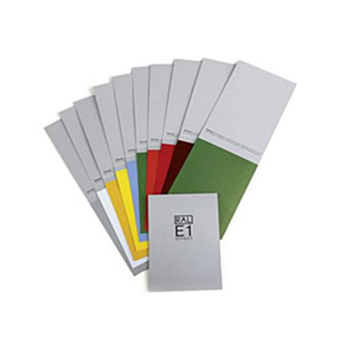 RAL E1 Cartões avulsos